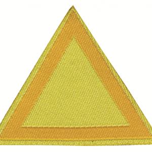 Distintivo di sestiglia giallo chiaro