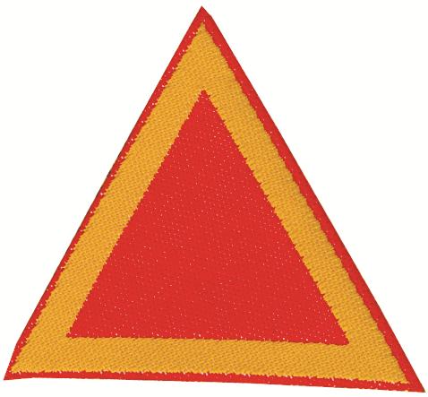 Distintivo di sestiglia rossi