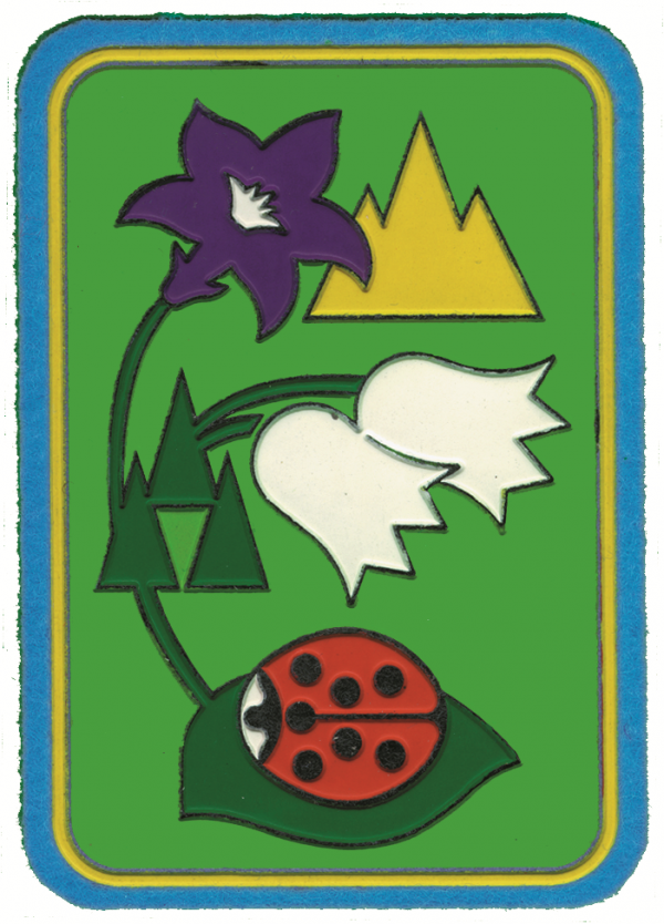 Distintivo di Progressione Personale per il Cerchio : Coccinella della montagna