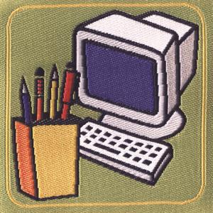 Distintivo di competenza animazione grafica e multimediale
